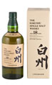 Виски САНТОРИ Хакушу 18 лет / SUNTORY Hakushu single malt 18 years 43%