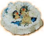 """Торт  """"Детский - Арктика """" от КФ  """"Румянцев хлеб+ """",вес торта от 2кг. может быть выполнен на бисквитной, песочной..."""