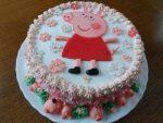Кремовый торт свинка пеппа фото – Торт Свинка Пеппа из мастики