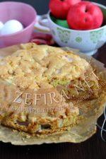 Пирог с яблоками на растительном масле – Воздушный пирог с яблоками на растительном маслеСочный, мягкий и ароматный вариант домашней выпечки