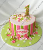 Торт кремовый девочке на 1 год – Торты для девочки на годик