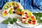 Желе торт битое стекло – Торт Битое стекло — рецепт с фото