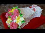 Мастер класс цветы из крема на торт – Кремовые цветы для торта в домашних условиях
