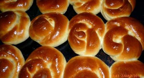 Вкусные булочки рецепт с фото пошагово