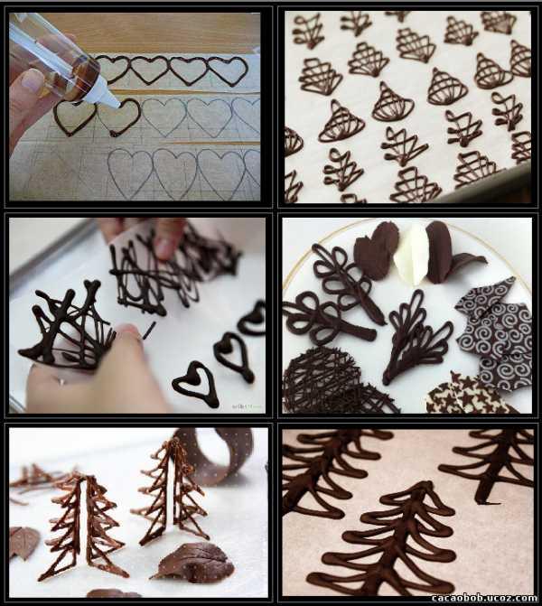 как украсить торт шоколадом фото пошагово никогда был