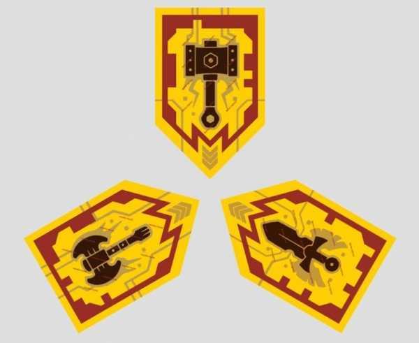 красивый нексо найтс тройной щит для сканировать картинка отвлеклась, потеряла бдительность