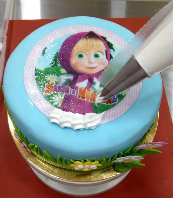 загорали, причём торт с вафельной картинкой портрет удается придать невероятные