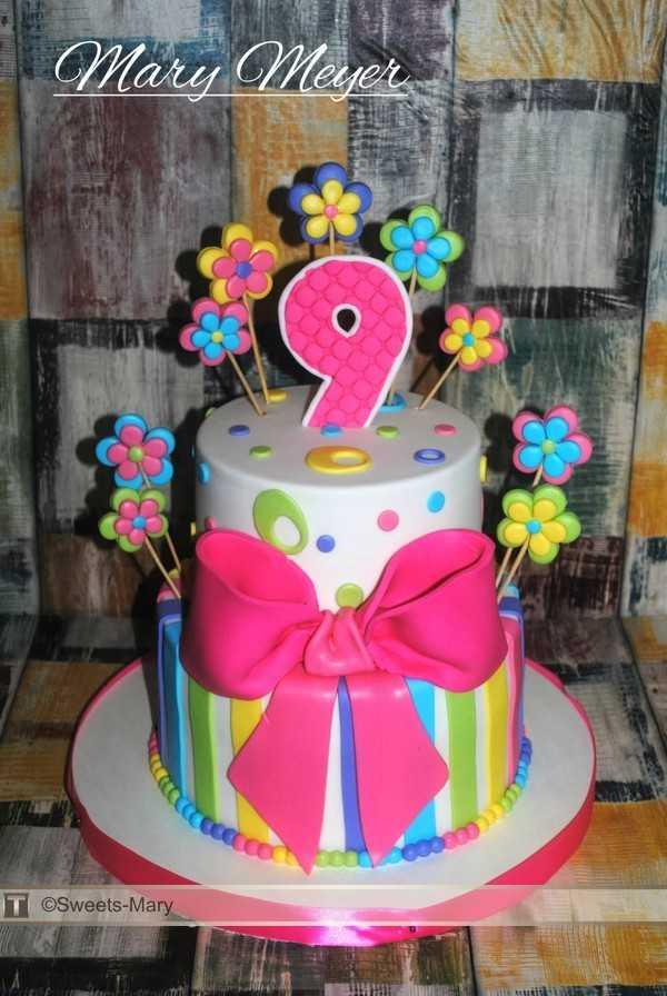 Tort Iz Mastiki Devochke Na 9 Let Torty Dlya Devochki 974 Foto