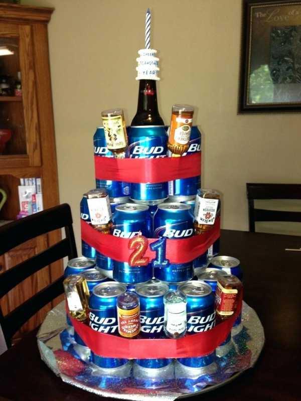 Торт для мужчин с пива фото